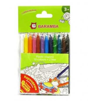 Карандаши цветные  12 шт. Baramba