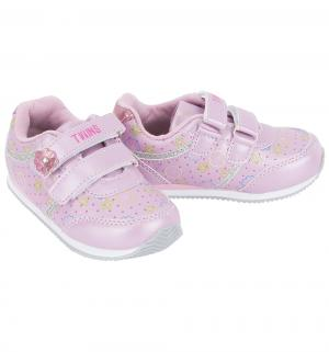 Кроссовки , цвет: розовый Twins