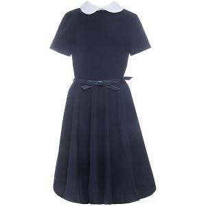 Платье  для девочки Смена. Цвет: синий