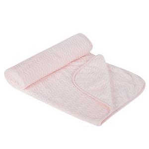 Плед  90 х 130 см, цвет: розовый Зайка Моя