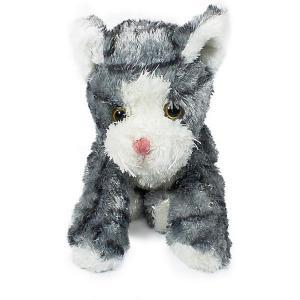 Мягкая игрушка  Котенок, серо-белый, 23 см Teddykompaniet. Цвет: серый