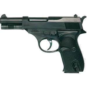 Пистолет  Eaglematic, 17,5 см Edison. Цвет: черный