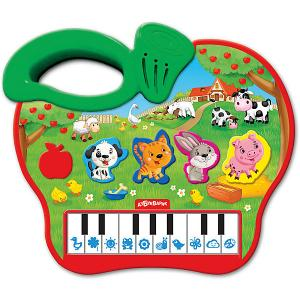 Пианино  Яблочко Азбукварик. Цвет: зеленый