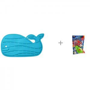 Коврик  для купания Китенок и Yako МиниМания игрушки-брызгалки в ванну Н85571 Skip-Hop