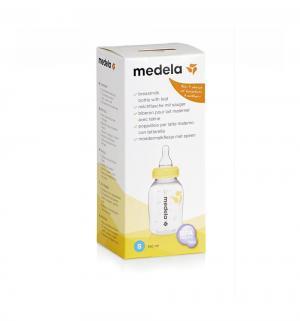 Бутылочка-контейнер  полипропилен с 0 мес, 150 мл, цвет: прозрачный Medela