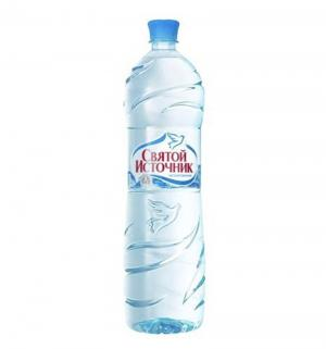 Вода  Негазированная, 1.5 л Святой Источник
