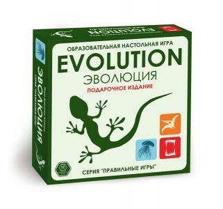Настольная игра  Эволюция (подарочный набор) Правильные игры