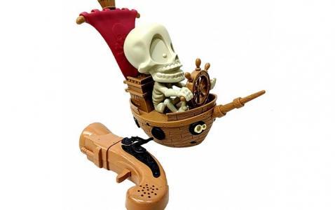 Интерактивная игрушка  Тир проекционный Джонни Пират с 1 бластером Fotorama