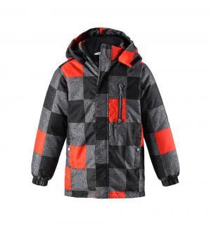 Куртка , цвет: черный/оранжевый Lassie by Reima