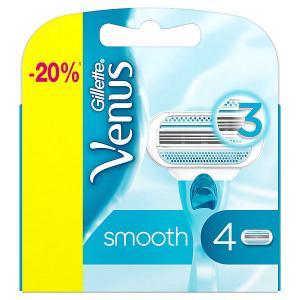 Кассеты Venus Smooth 4 шт Gillette