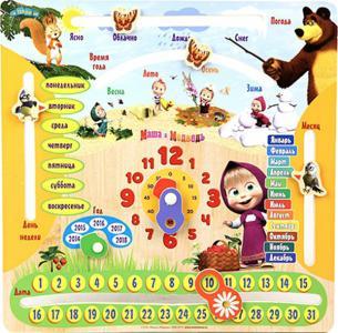 Настольная игра  Маша и Медведь: Календарь, 1шт. Затейники