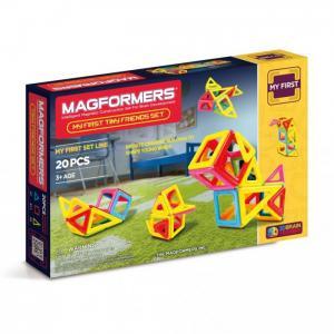 Конструктор  Магнитный Tiny Friends Magformers