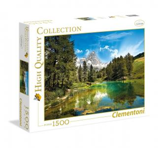 Пазл  Классика. Голубое озеро 1500 элементов Clementoni