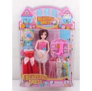 Кукла в комплекте с одеждой China Bright Pacific