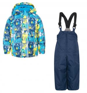 Комплект куртка/полукомбинезон , цвет: синий Fobs