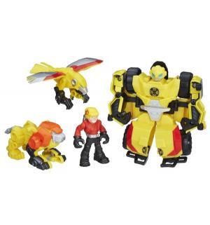 Игровой набор  Трансформеры: Боты-спасатели Bumblebee Rock Rescue Team Playskool