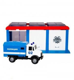 Игровой набор  Сити Полиция, с фургоном, 22 х 14.5 9 Пламенный мотор
