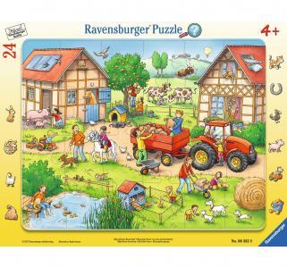 Пазл  Жизнь на ферме 24 шт. Ravensburger