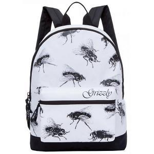 Рюкзак , белый Grizzly. Цвет: белый