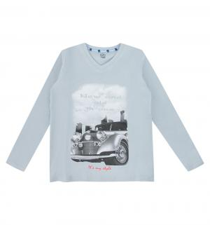Пижама джемпер/брюки , цвет: серый/голубой Белый Слон