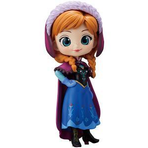 Фигурка Bandai Q Posket Disney Characters Анна в обычной цветовой версии, BDQ2. Цвет: разноцветный