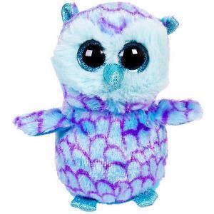 Мягкая игрушка  Совёнок 15 см, голубой ABtoys. Цвет: голубой