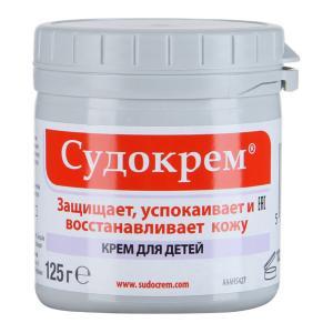 Крем  гипоаллергенный, с рождения, 125 г Судокрем