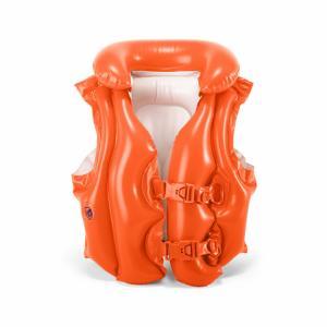 Жилет для купания  надувной Делюкс 49 х 46 см (оранжевый) Intex
