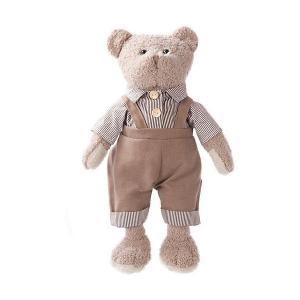 Мягкая игрушка  Мишка Мишенька в сером, 23 см Angel Collection