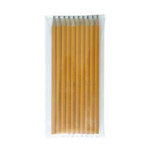 Набор чёрнографитных карандашей , 10 шт. KOH-I-NOOR. Цвет: коричневый