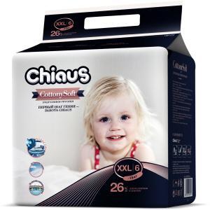 Трусики-подгузники  Cottony Soft, р. 5, 15+ кг, 26 шт Chiaus