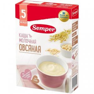 Каша  молочная Овсяная с 5 месяцев 200 г Semper