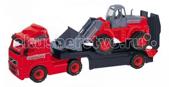 Автомобиль-трейлер+трактор-погрузчик Wader