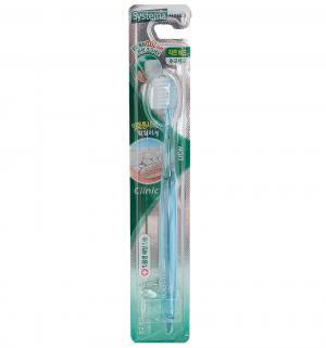 Зубная щетка  Dentor System компактная, цвет: голубой CJ Lion