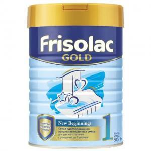 Заменитель молока  Фрисолак Gold 1 0-6 месяцев, 800 г Friso