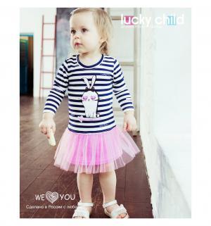Платье  Amore girl, цвет: мультиколор Lucky Child
