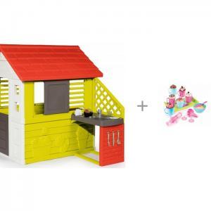 Игровой домик с кухней 81071 набором для приготовления кексов Chef 312101 Smoby