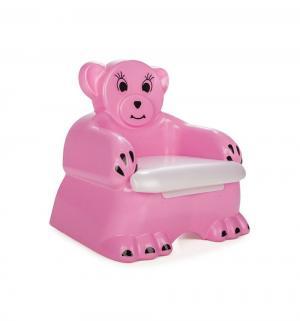 Горшок  Bobo Child Potty со свистком, цвет: розовый Pilsan