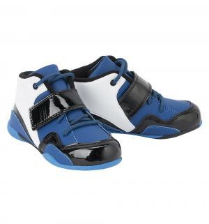 Ботинки SCool, цвет: белый/синий S'Cool