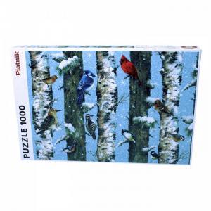 Пазл Рождественские птицы (1000 деталей) Piatnik