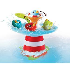 Игрушка для купания  Фонтан. Утиные гонки Yookidoo. Цвет: разноцветный