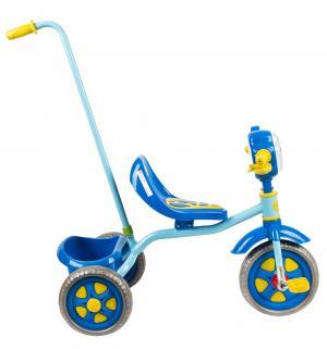 Детский трехколесный велосипед с ручкой Leader Kids 1201,