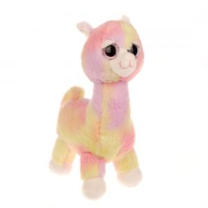Мягкая игрушка  Альпака Радуга Fluffy Family