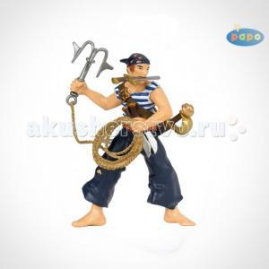 Игровая фигурка Пират с абордажным крюком Papo