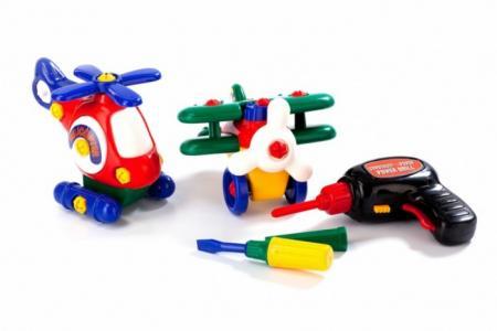 Конструктор  детский Маленькая авиация Bradex