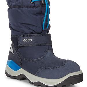 Сапоги ECCO. Цвет: синий