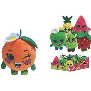 Мягкая игрушка  Cukoons Фрукты, 15 см ABtoys. Цвет: разноцветный