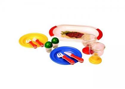 Набор посуды Сытный обед Spielstabil