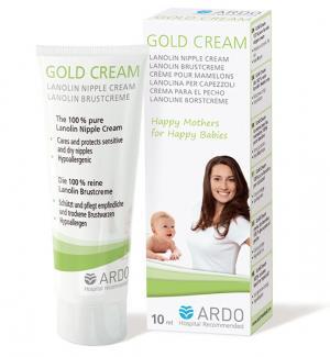 Ланолиновый крем для сосков Gold Cream 10 мл Ardo