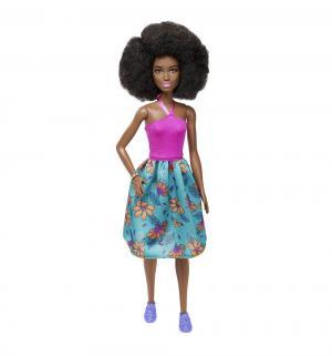 Кукла  Игра с модой Розовый топ бюрюзовая юбка цветами Barbie